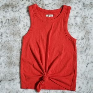 Madewell Audio Knot-Front Tank